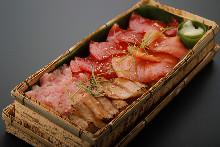 참치 떠먹는 초밥 세트