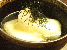 아게다시모찌(일본식 떡 튀김)
