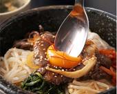 갈비 돌솔 비빔밥 런치