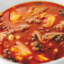 육개장 수프