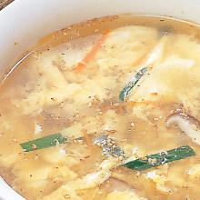 달걀 수프