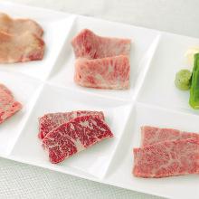 고기 구이 모둠 5가지