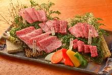 상질급 고기 모둠