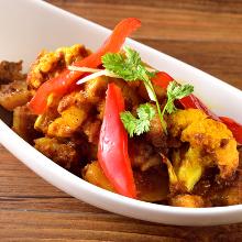 印度土豆花菜