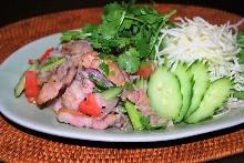 猪肉香草沙拉