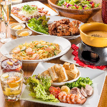 3,500日元套餐 (8道菜)