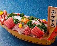 生鱼片拼盘