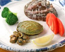 鲍鱼排、烤鲍鱼
