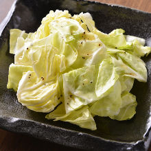 盐味卷心菜
