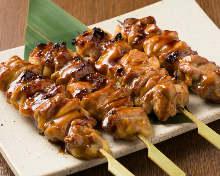 鸡腿肉烤串