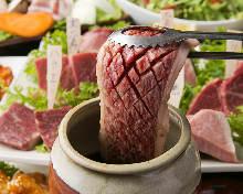 烤罐腌肋肉