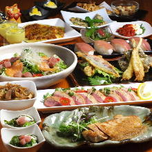 5,500日元套餐 (14道菜)