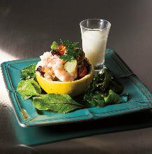 腌渍海鲜沙拉