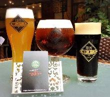 三种啤酒品尝比较