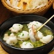 西班牙蒜香海鲜蘑菇