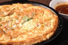 韩式海鲜饼