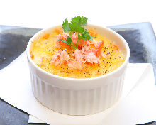 海鲜焗烤通心粉
