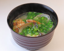 蛤仔味增汤