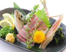 竹荚鱼(生鱼片)