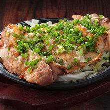 烤、煎鸡肉
