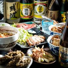 4,800日元套餐 (10道菜)