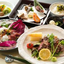 8,250日元套餐 (9道菜)