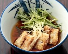 凉拌烤鳗鱼