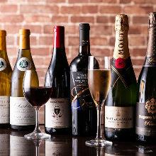 瓶装葡萄酒