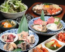 6,000日元套餐 (16道菜)