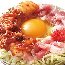 猪肉韩式泡菜御好烧
