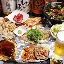3,996日元套餐 (8道菜)