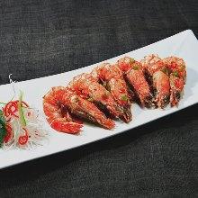 辣炒带头虾