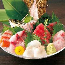 7种生鱼片拼盘