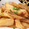 (油炸) 凤尾鱼,炸薯条
