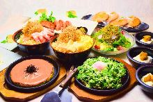 3,500日元套餐 (6道菜)