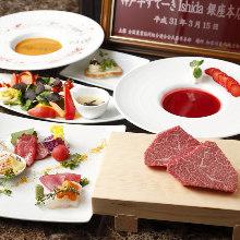 12,800日元套餐 (8道菜)