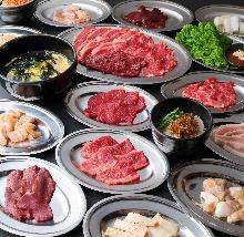 3,002日元套餐 (120道菜)
