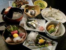 4,100日元套餐 (9道菜)
