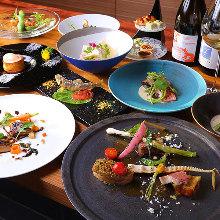 9,504日元套餐 (9道菜)