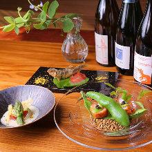 6,890日元套餐 (7道菜)