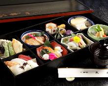 4,000日元组合餐 (8道菜)