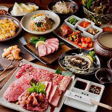 10,000日元套餐 (15道菜)