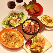 3,480日元套餐 (7道菜)