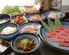 4,480日元套餐 (15道菜)