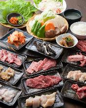 5,780日元套餐 (100道菜)