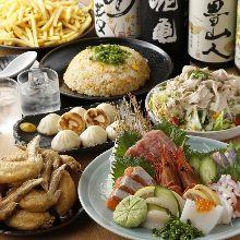 3,000日元套餐 (7道菜)