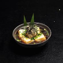 高汤炸豆腐