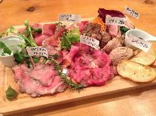肉类前菜拼盘