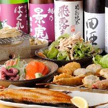 4,000日元套餐 (10道菜)