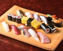 每日更换手握寿司拼盘